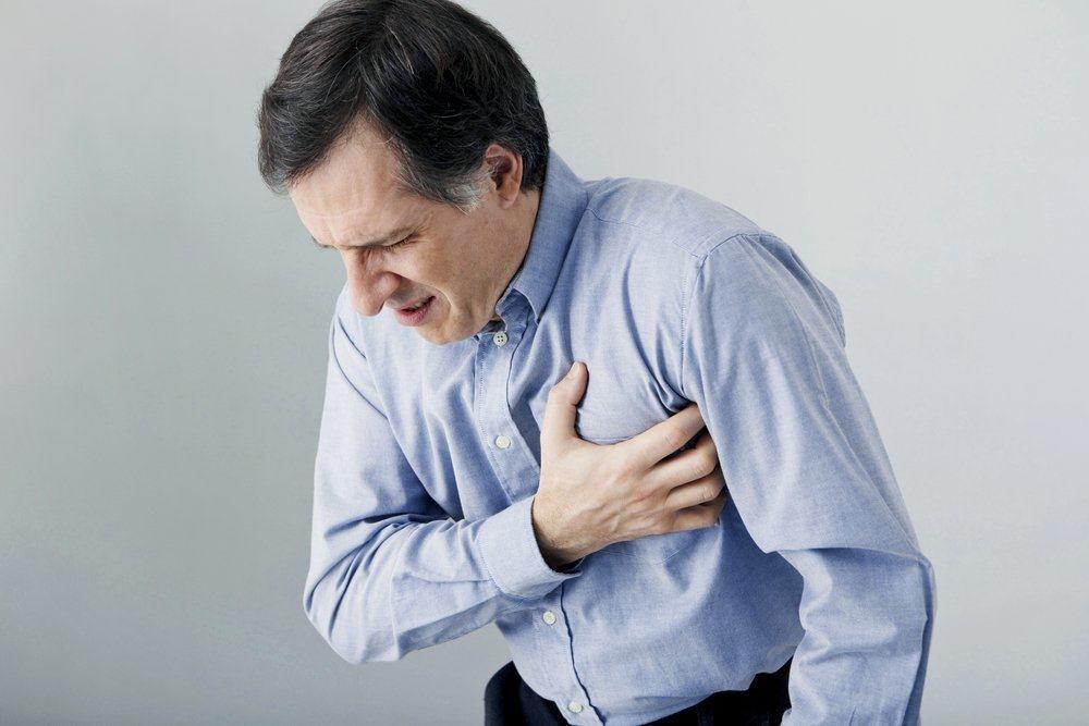 gejala serangan jantung ringan