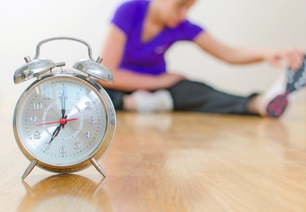 cara mengatur waktu olahraga