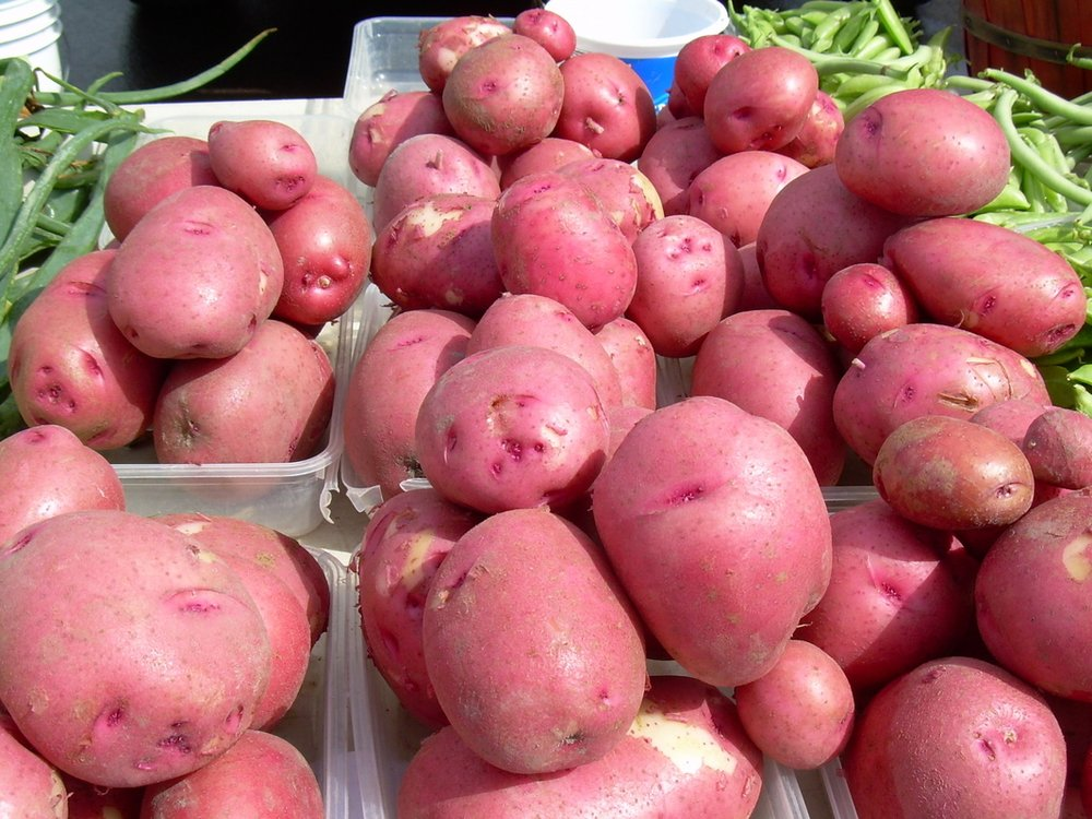 manfaat kentang merah