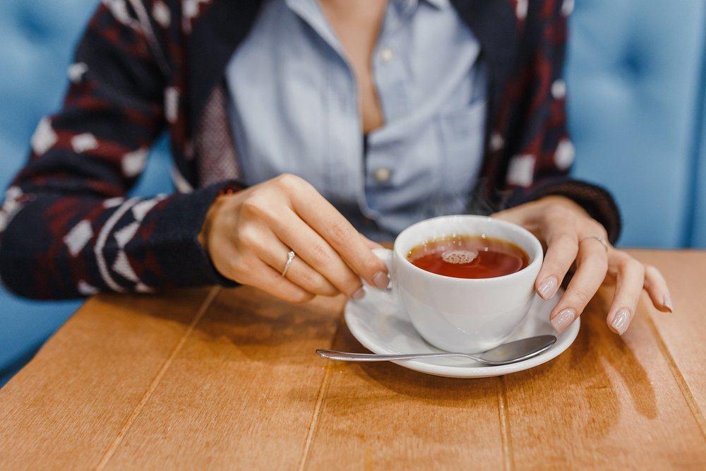 minum teh setelah makan