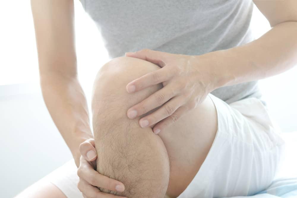 tulang di bawah lutut
